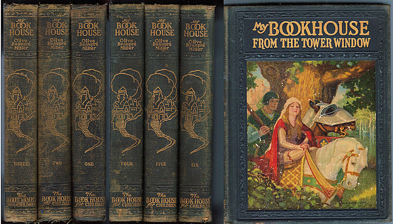 """Miller, Olive Beaupré. My Book House. 6 vols. The Bookhouse for Children, 1925."