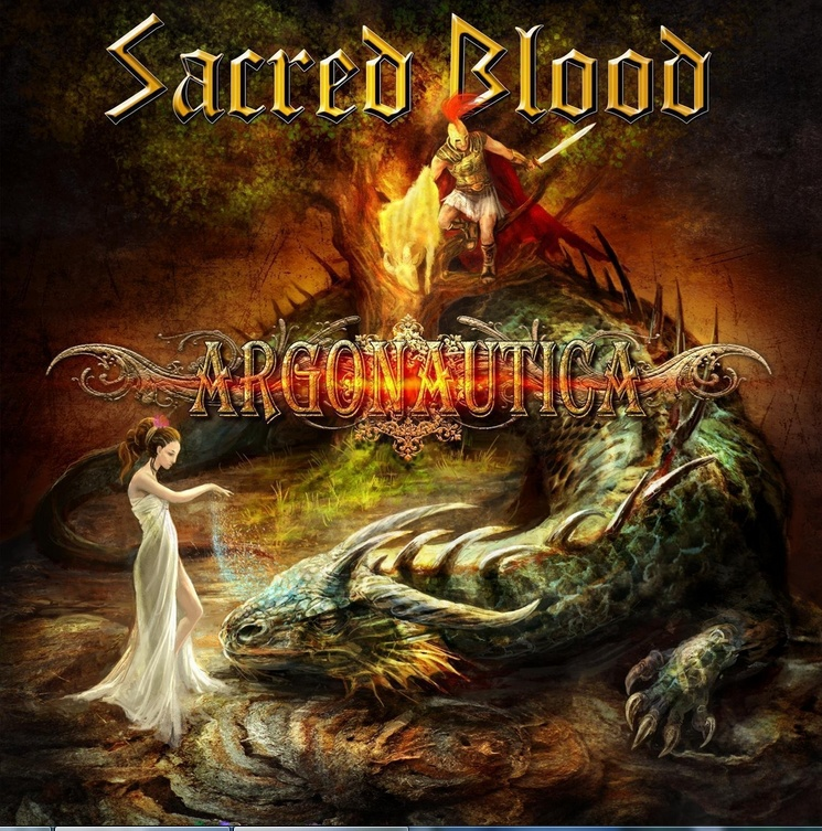 album cover, Sacred Blood's Argonautica