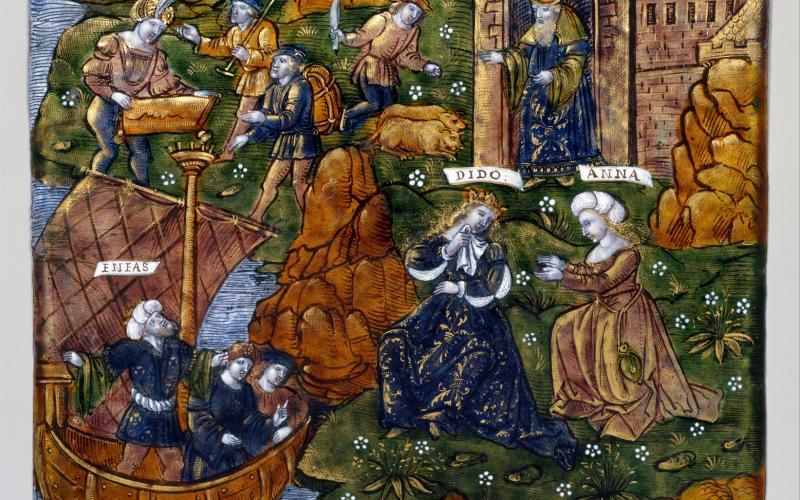 Aeneas Departs from Carthage (Aeneid, Book IV)