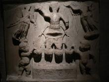 Relief of Porphyrius the Charioteer. Courtesy of Creative Commons.