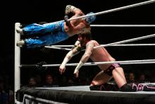 CM Punk vs. Rey Mysterio. WWE House Show, 6/26/11