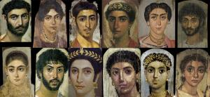 Roman Era Mummy Portraits from the Getty, Met, Wikimedia.