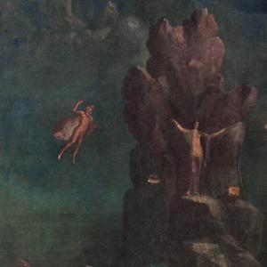 Perseus and Andromeda in landscape fresco Metropolitan Museum_public domain