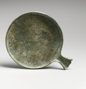 Etruscan mirror with Lasa. Image courtesy of Met Museum.