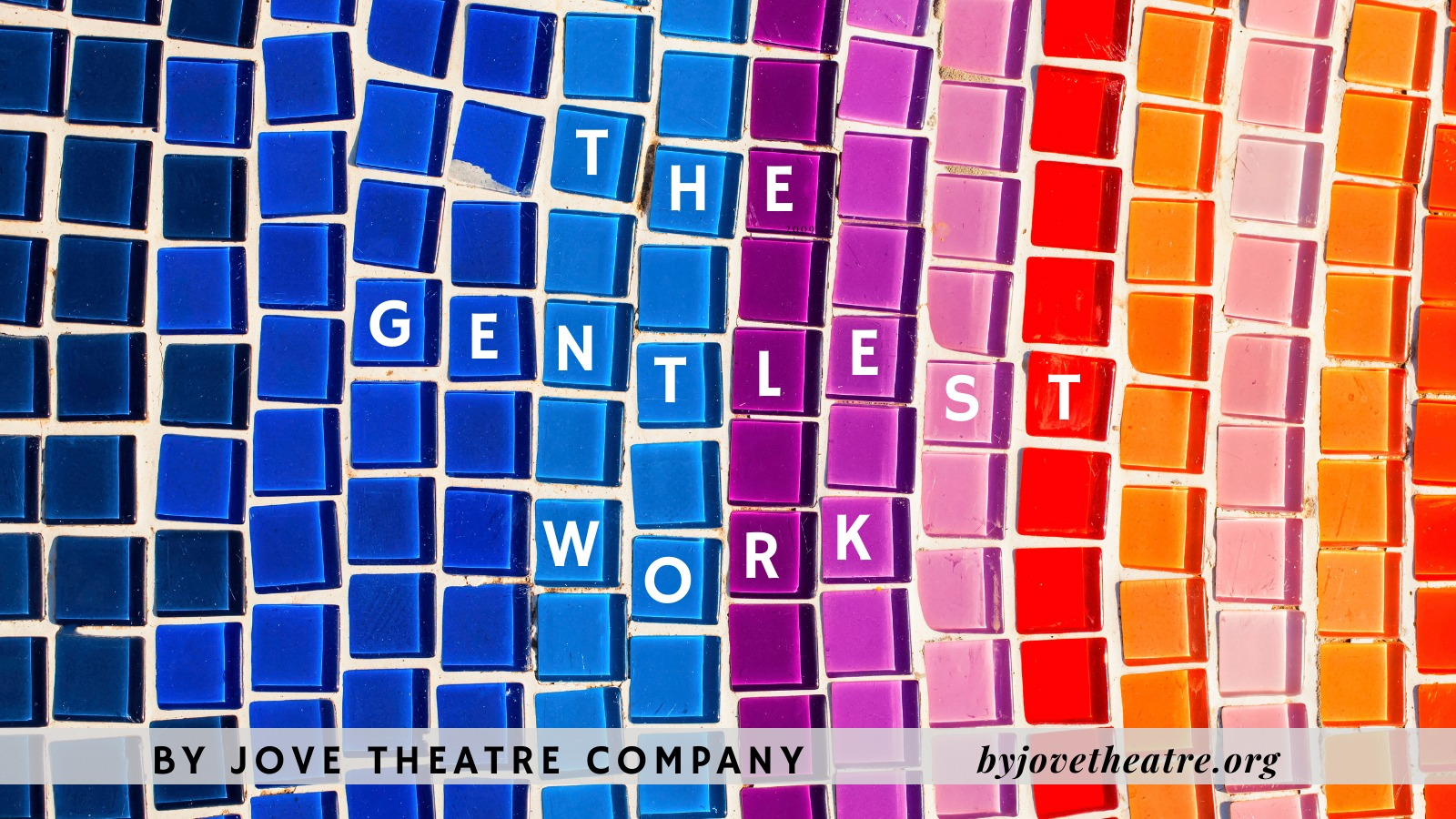 Figure 4. Poster for By Jove Theatre Company's The Gentlest Work.